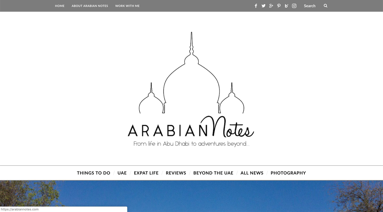 arabian notes blog