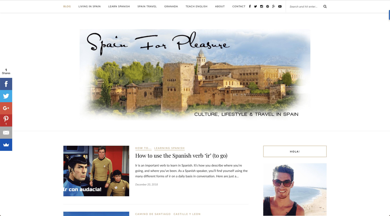 spain for pleasure blog
