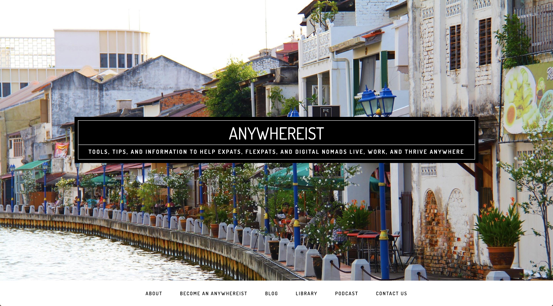 anywhereist blog